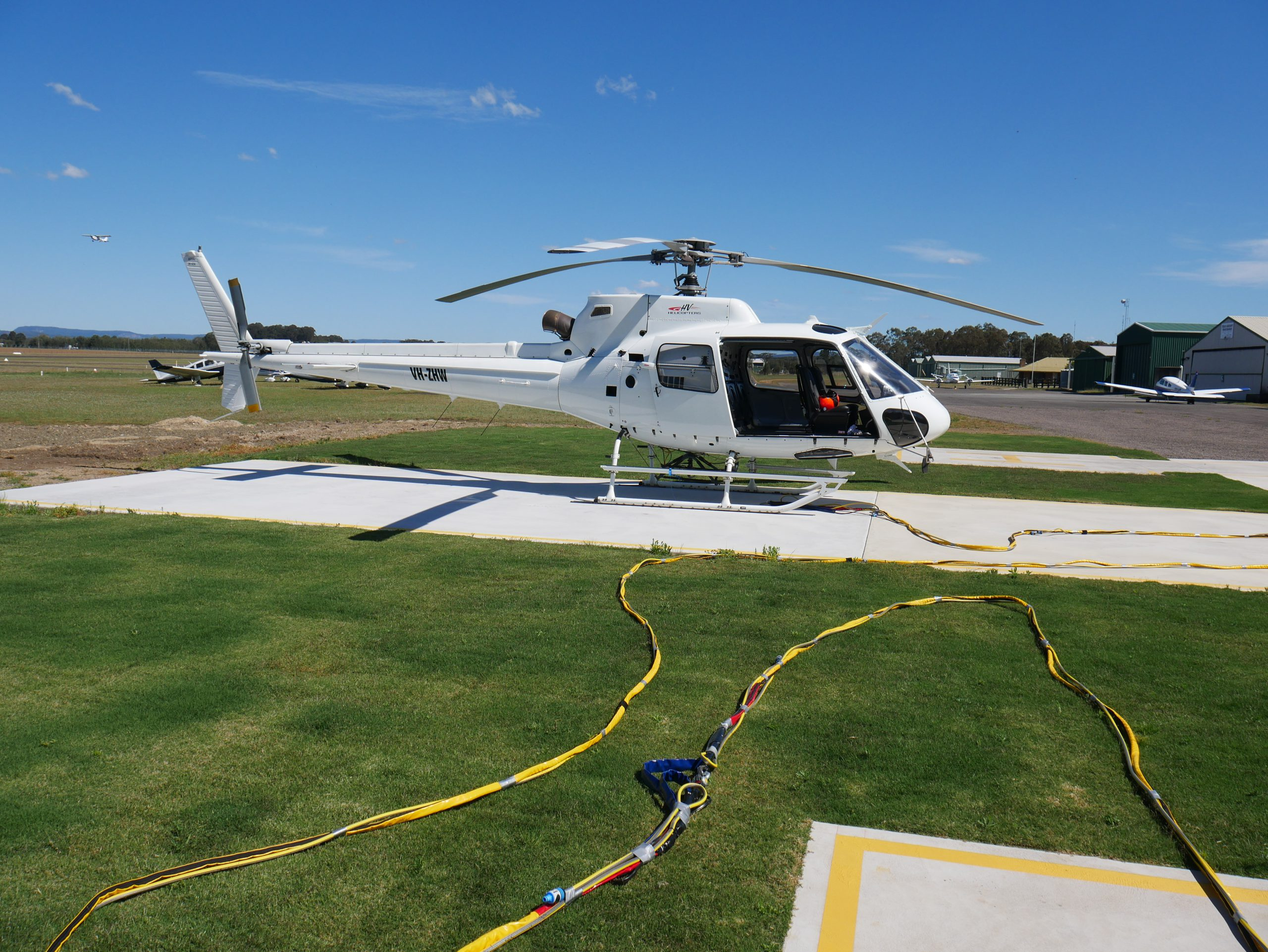 AS350 With Long Line